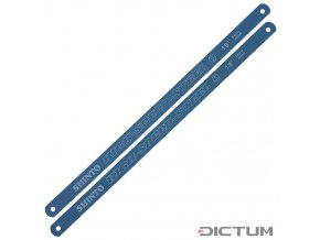 Dictum 712544 - Replacement Blades for Metal Coping Saw, Length 300 mm, 18 Teeth per Inch