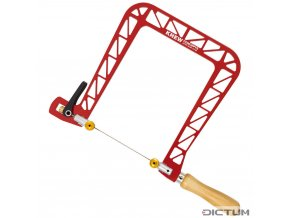 Dictum 712554 - Knew Concepts Coping Saw, Heavy Duty, Jaw Depth 200 mm