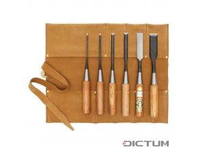 Dictum 710106 - Thin Paring Chisel, 6-Piece Set