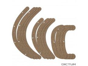 Dictum 735646 - Rubber Cork Pads for Herdim® Gluing Clamp Set, Cello