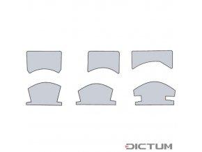 Dictum 739400 - Herdim® Profile Patterns, 6-Piece Set