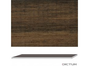 17936 dictum 831053 ebony second quality 520 x 70 x 8 mm