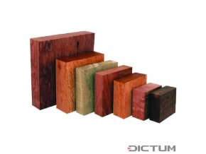 17984 dictum 831115 australian precious wood bowl blanks assortment 5 kg