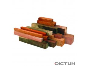 17987 dictum 831117 australian precious wood squared timber assortment 5 kg