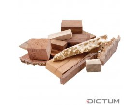 18008 dictum 831132 australian precious wood grain wood offcuts 5 kg