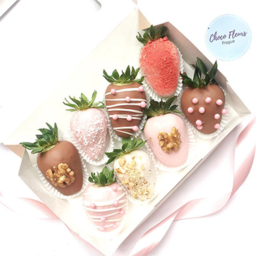 Jahody v čokoládě