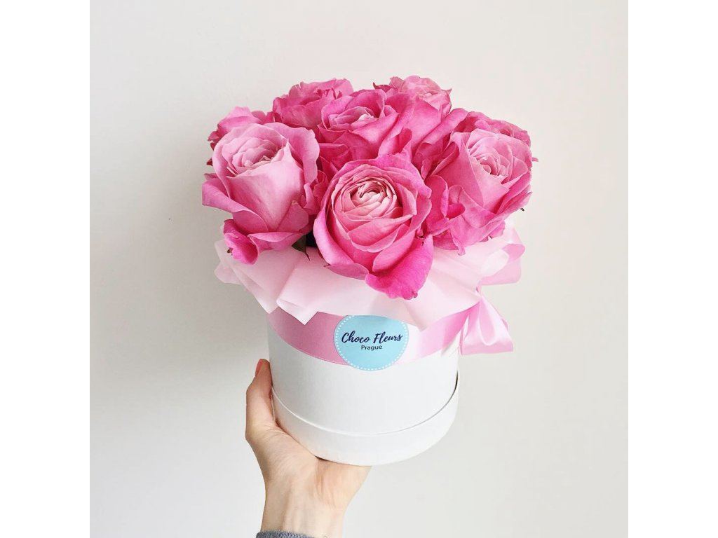 Květinový box - růže All for Love