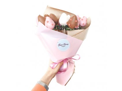 Kytice z jahod v čokoládě - Love