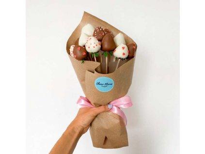 Kytice z jahod v čokoládě - Dream