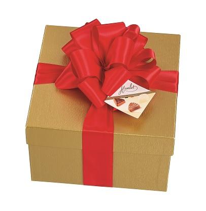 Hamlet zlatý box s mašlí, 800 gr