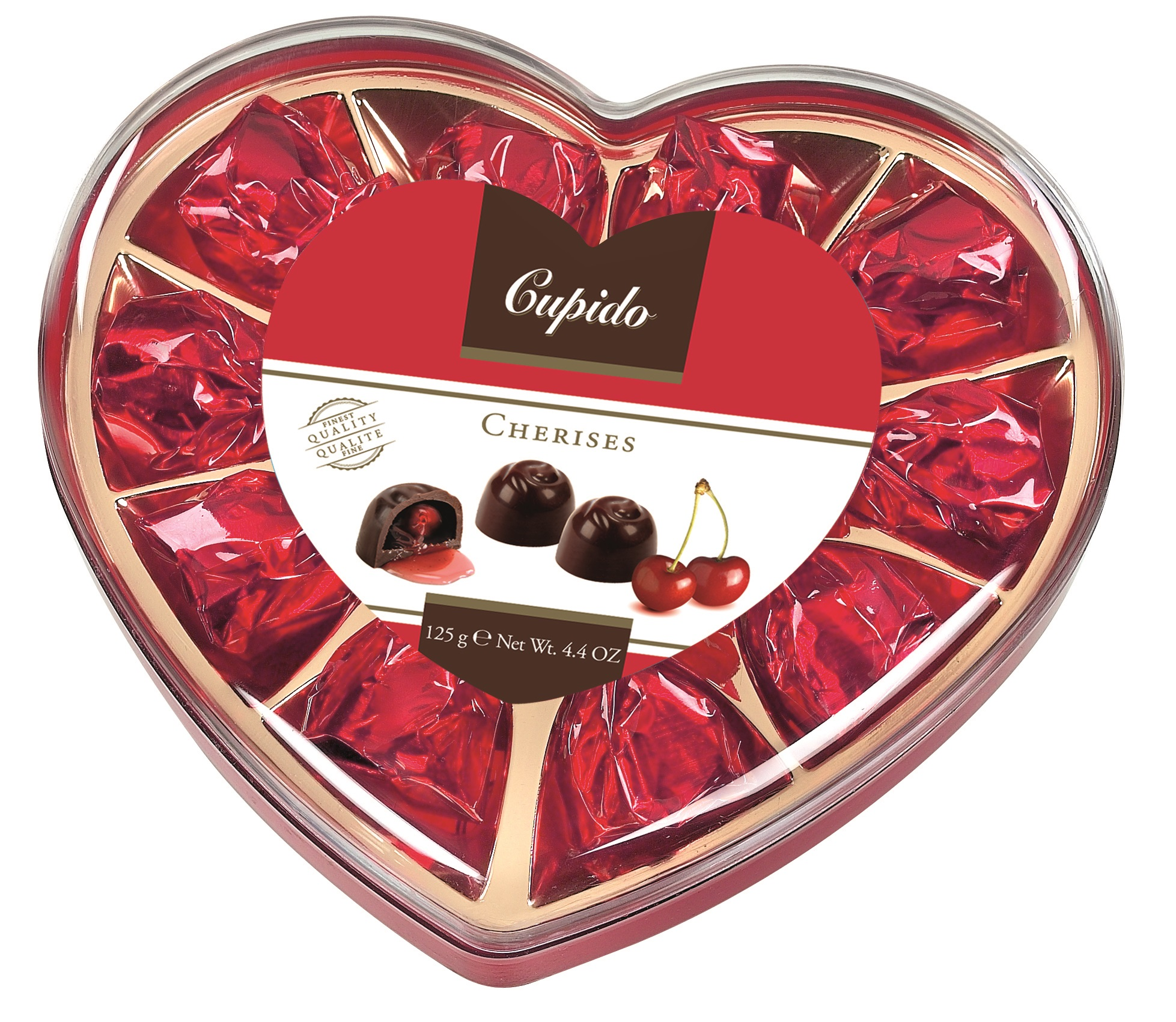 Gift box Srdce-višně
