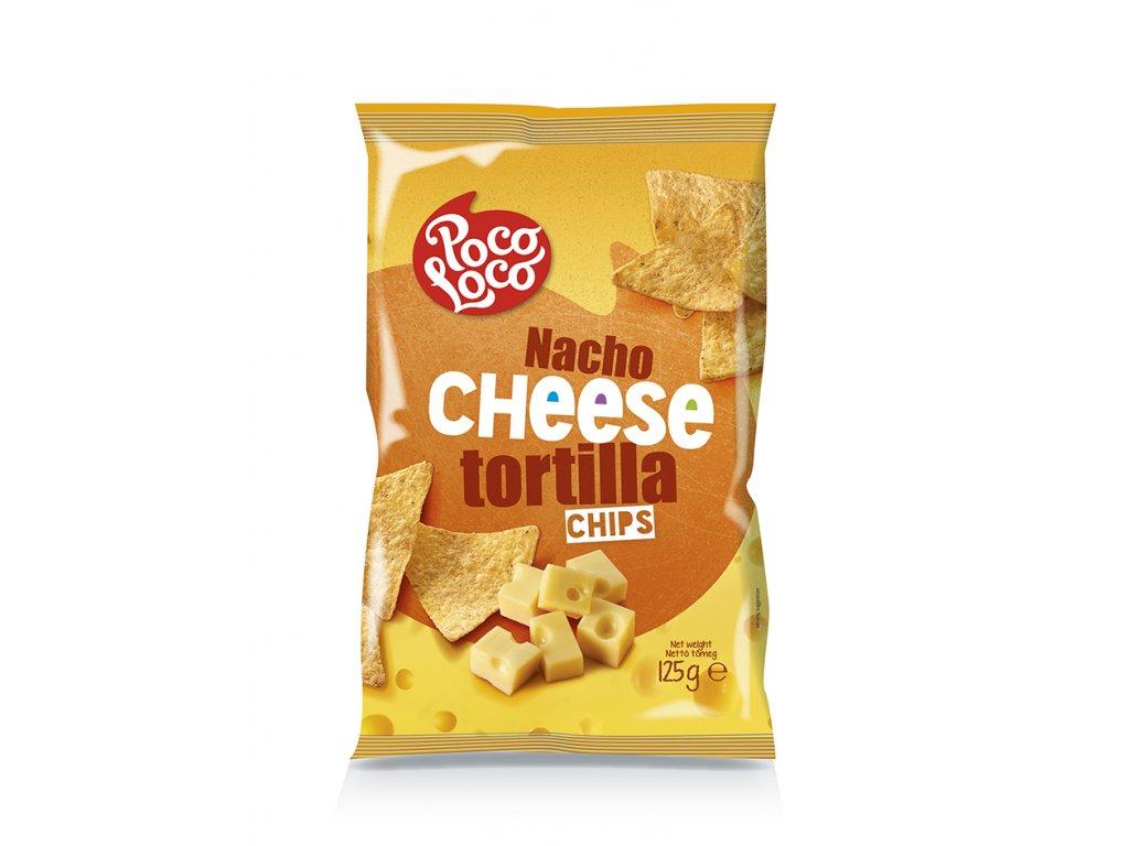 Nachos chips sýrové 125 gr