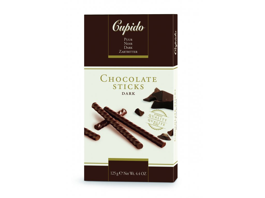 Čokoládové tyčinky Hamlet -hořké, 125 gr