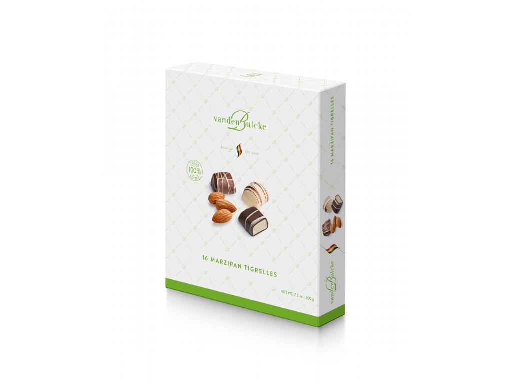 Belgické pralinky Vandenbulcke -Marcipán v čokoládě, 200 gr