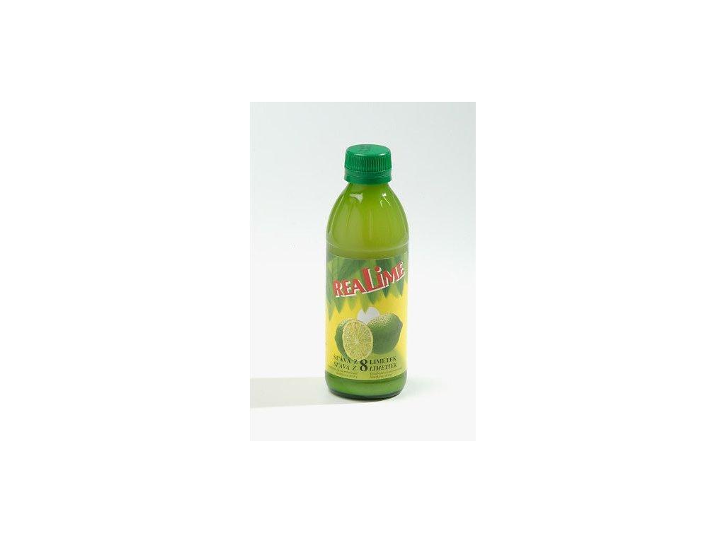 Limetkový koncentrát Meroso 100%, 250 ml (krt)
