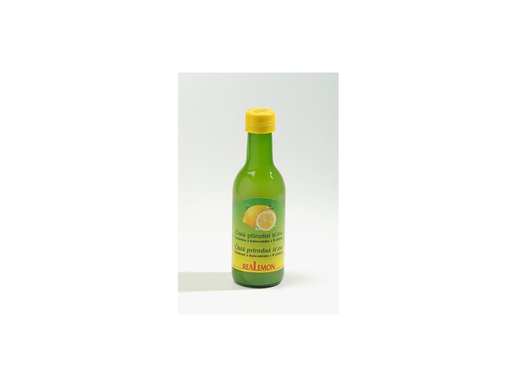 Citronový koncentrát Meroso 100%, 250 ml (krt)