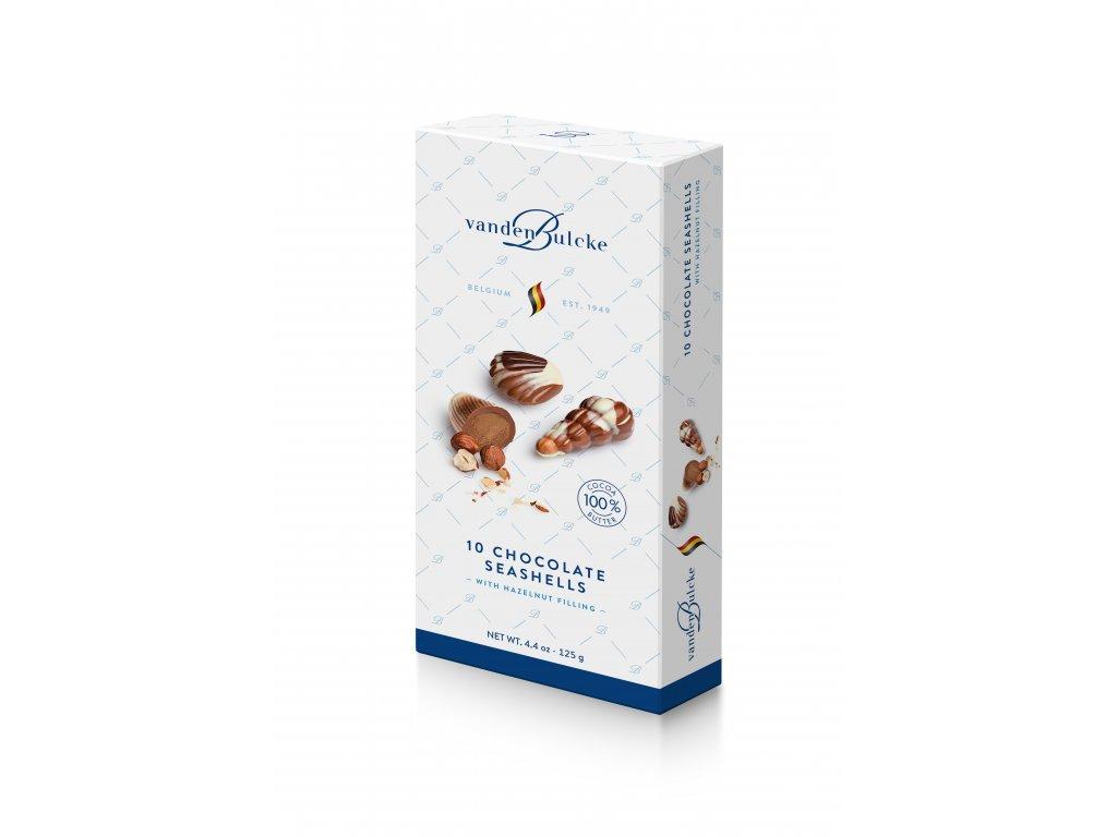 3D VD0020A Chocolate Seashells 125g