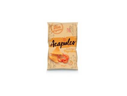 Nachos Chips Poco Loco -Paprika, 125 gr