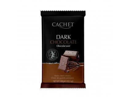 Tabulková čokoláda Cachet -hořká 53%, 300 gr