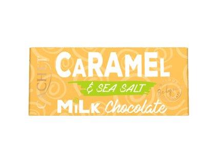 Tabulková čokoláda Cachet- Mléčná s karamelem & m.solí, 40 gr