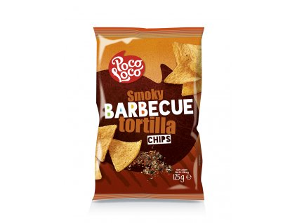 Nachos chips barbecue 125 gr