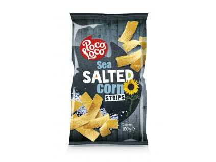 Corn strips s mořskou solí 200 gr