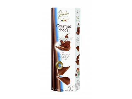 Belgické čokoládové chipsy Hamlet -mléčné, 150 gr