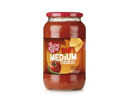 Poco Loco Salsa Mexicana Medium, 1050 gr