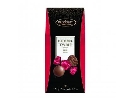 Čokoládové bonbóny Hamlet -mléčné s kakaovou náplní, 120 gr