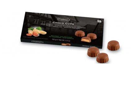 Čokoládové pralinky Hamlet -mléčné s arašídovou náplní, 150 gr