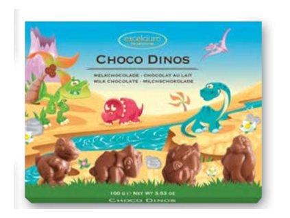 Čokoládové figurky Hamlet -Dinosauři, 100 gr