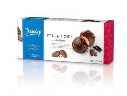 Belgické sušenky Desobry -Perly hořké, 100 gr