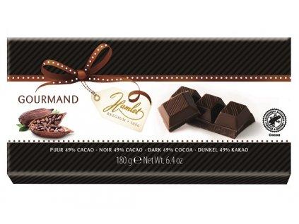 Tabulková čokoláda Hamlet- hořká 49%, 180 gr