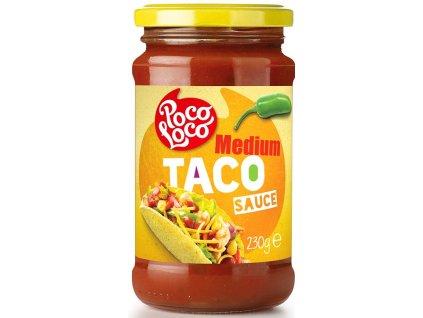 Etiket Medium Taco Sauce 230g