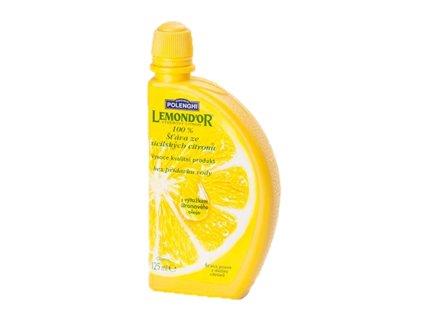 Citronová šťáva Polenghi -Lemondor 100%, 125 ml (krt)