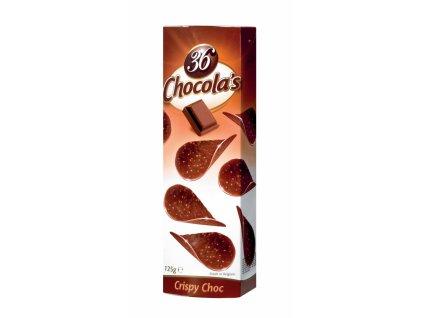 Belgické čokoládové chipsy Hamlet -mléčné, 125 gr