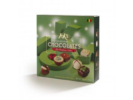 Belgické pralinky ICKX -Vánoční směs, 148 gr