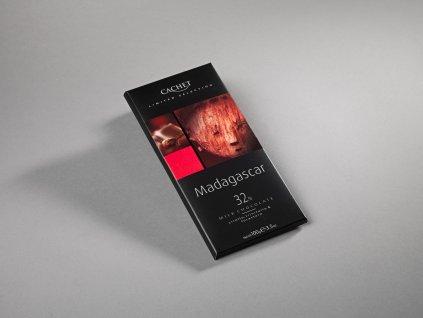 Tabulková čokoláda Cachet -Madagaskar 32%, 100 gr
