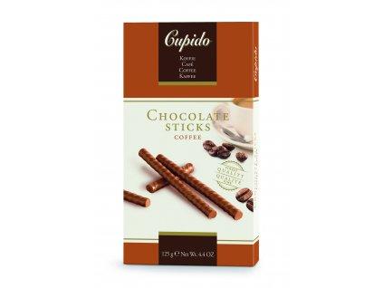 Čokoládové tyčinky Hamlet -kávové, 125 gr