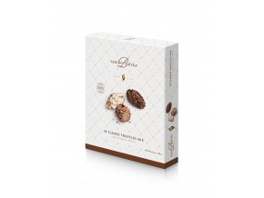3D B99703 Flaked Truffles Milk Dark White 180g