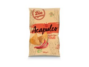 Nachos Chips Poco Loco -Chili, 125 gr