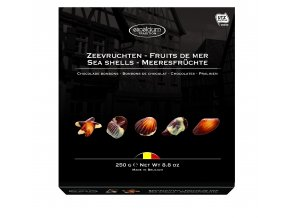 Belgické pralinky Hamlet -Excelcium plody moře, 250 gr