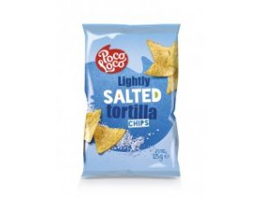 Nachos chips slané 125 gr