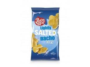 Nachos chips jemně slané- bez příchutě 450 gr