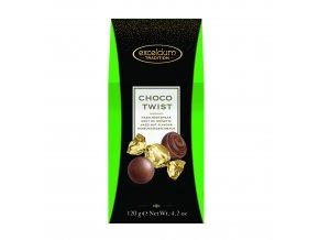 Čokoládové bonbóny Hamlet -mléčné s lískooříškovou náplní, 120 gr