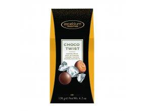 Čokoládové bonbóny Hamlet -mléčné s karamelovou náplní, 120 gr