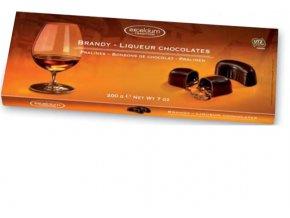 Likérové pralinky Hamlet -Brandy v hořké čokoládě, 200 gr