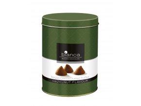 Belgické lanýže Bianca lískový oříšek -v plechovém obalu, 300 gr