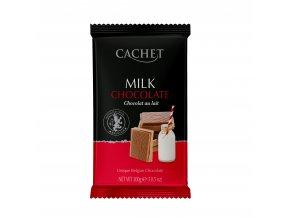 Tabulková čokoláda Cachet -mléčná 32%, 300 gr