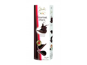 Belgické čokoládové chipsy Hamlet -hořké, 150 gr